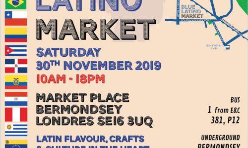 New Blue Latino Market in the heart of Bermondsey