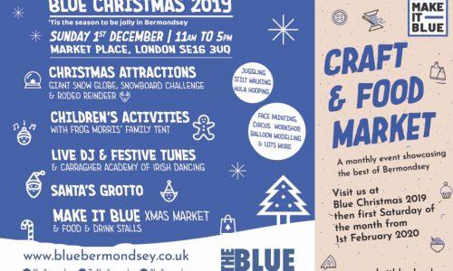 Blue Christmas 2019, 'tis the season to be jolly in Bermondsey