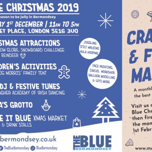 Blue Christmas 2019, 'tis the season to be jolly in Bermondsey
