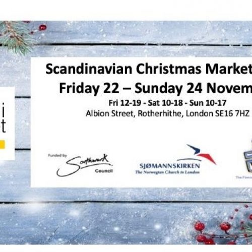Scandinavian Christmas Market 2019 in Rotherhithe