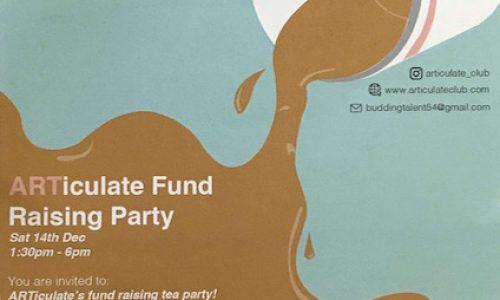 ARTiculate Fund Raising Party in Bermondsey