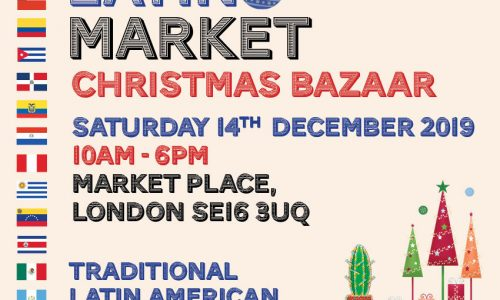 Blue Latino Market Christmas Bazaar in The Blue