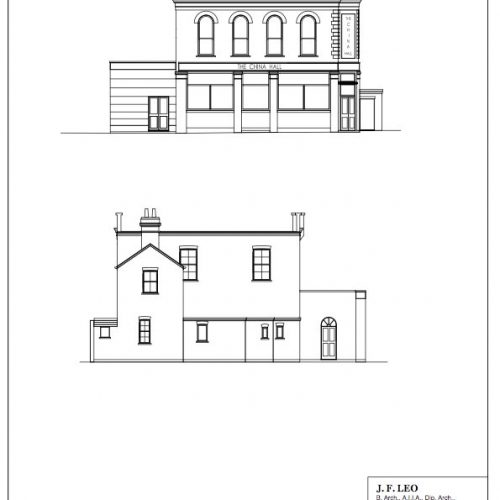 Planning Application Notice: China Hall Pub