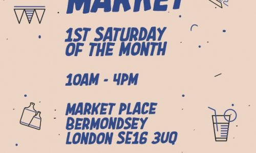 Make It Blue, craft and food market first Saturday of the month