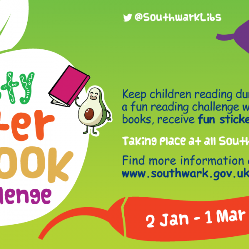 Southwark Libraries Tasty Winter Book Challenge