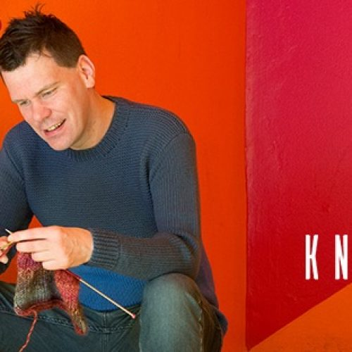 Meet James McIntosh, author of Knit and Nibble
