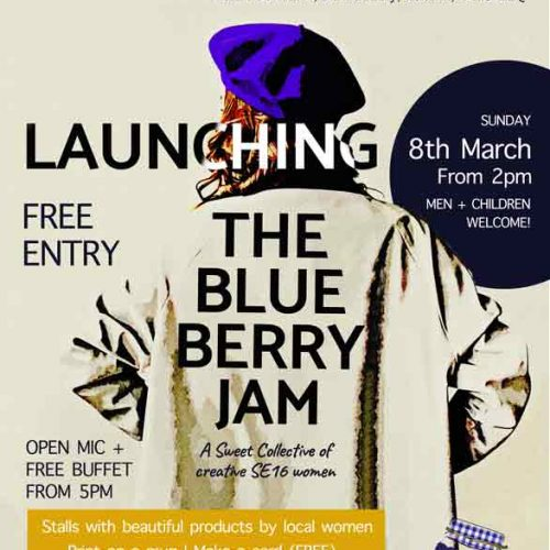 Launch of Blueberry Jam for International Women's Day