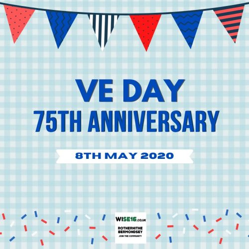 VE DAY 75th Anniversary At Home