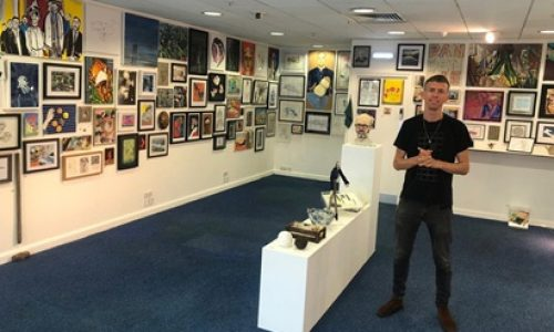 Surrey Quays welcomes 'Art of Isolation' lockdown exhibition