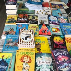Surrey Quays Shopping Centre gifts hundreds of children's books to local families in need